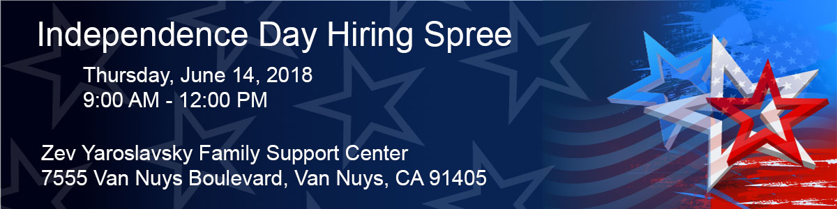 independence day hiring spree