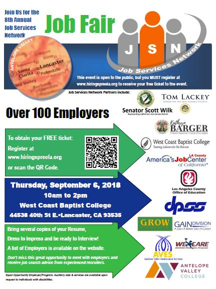 2017 job services network flyer
