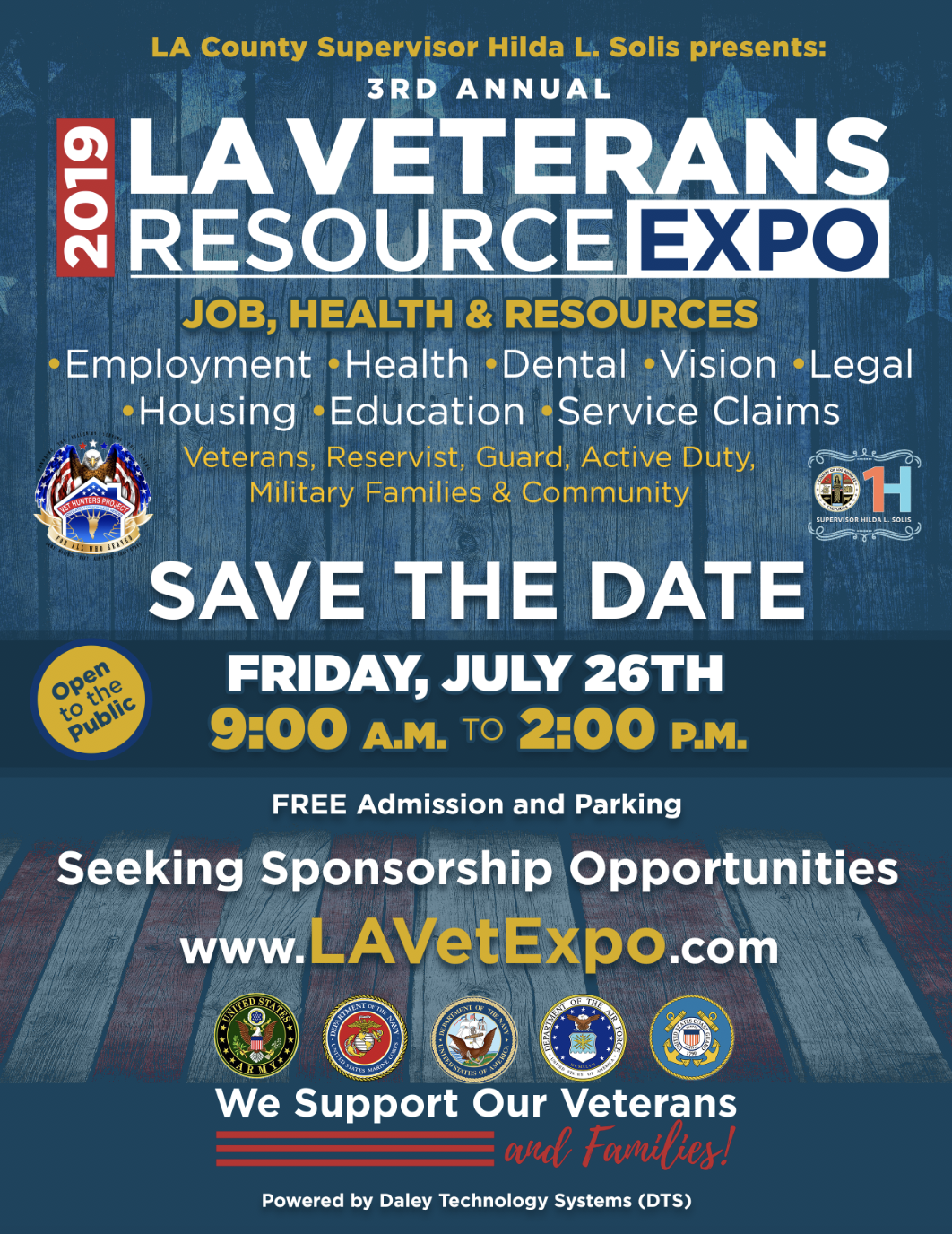2019 LA veterans resource expo save the date