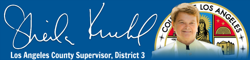 Supervisor Sheila Kuehl Los Angeles District 3